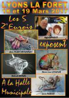 Expo à LYONS LA FORET , PATRICK RAYNAL Artiste MDA