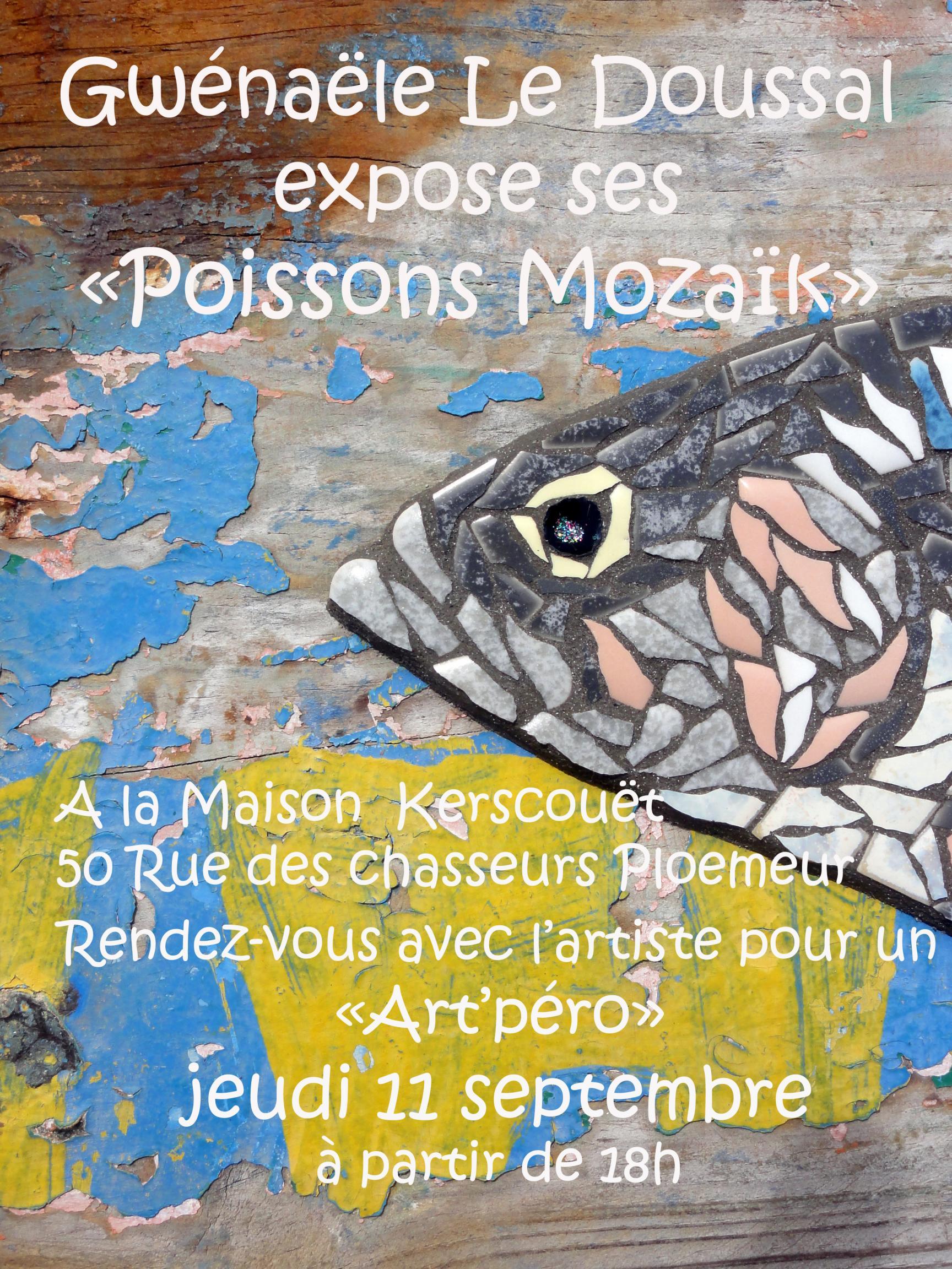 Actualité de gwenaele le doussal passionmozaik Exposition des