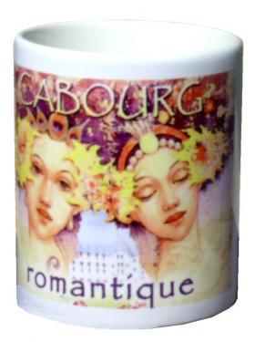 mug MEZ - Cabourg romantique