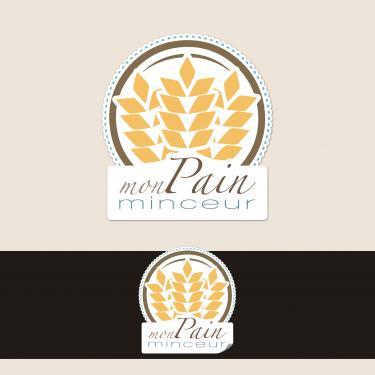Logo pour une marque de farine minceur.