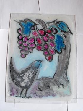 le merle et les raisins