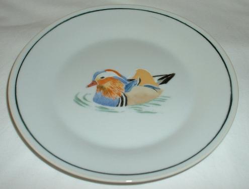 assiette canard mandarin