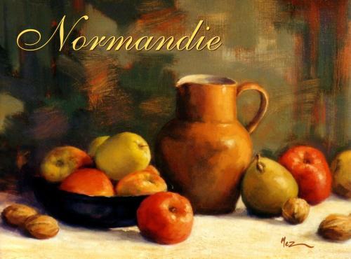 carte MEZ - Normandie pommes-pichet