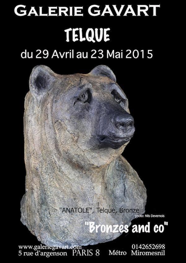 Actualité de TELQUE chris Galerie GAVART Paris 8ème Mai 2015