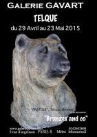 Galerie GAVART Paris 8ème Mai 2015 , TELQUE chris