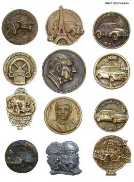 Médailles Presse-papiers Bronze d' art diamètre : de 8 à 9,5 cm tarifs : sur demande