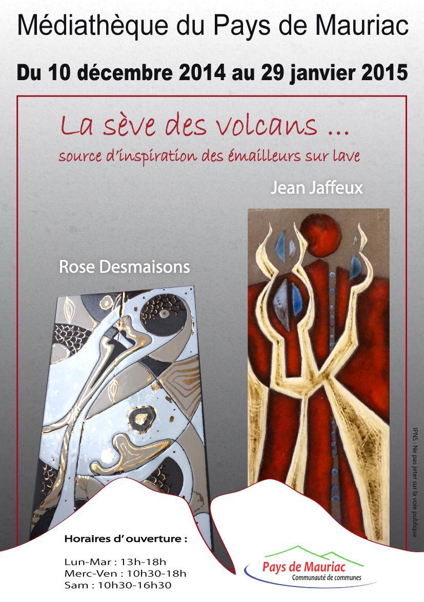 Actualité de Rose Desmaisons Pépite de lave Exposition