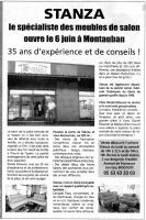 Article dépêche du midi  , francine D'oliveira Rezende artiste peintre