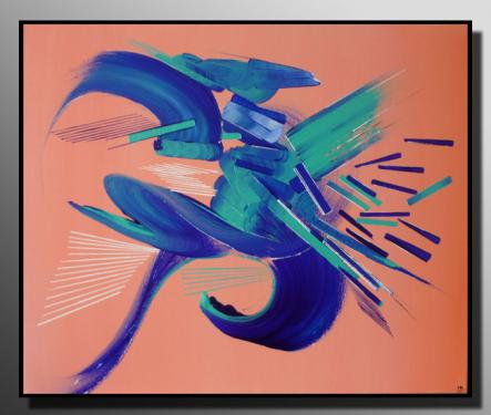 METAMORPHOSE Taille : 61X50 Peinture abstraite   Acrylique au couteau/pinceau Toile sur ch�ssis bois Cotation Drouot Site officiel : http://www.mapeinturesurtoile.com Prix : me contacter