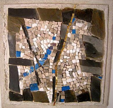 mosaïque armé extérieur intérieur      40x40
