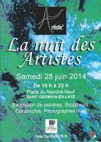 La Nuit des Artistes � St-Germain-en-Laye , Pascale Gillard