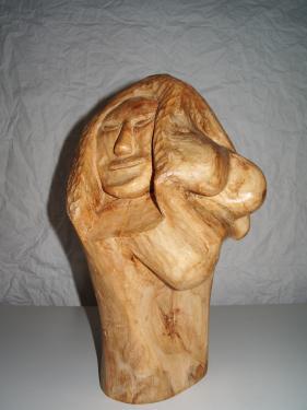 Femme et ses formes  Greffe de pommier  130 E Hors livraison