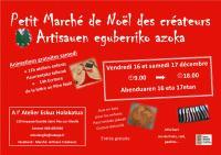 Petit Marché de Noël des Créateurs , Brigitte Ryckenbusch Eskuz Holakatua