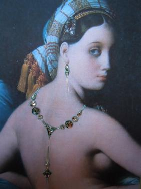 Ingres avait-il imagin� que sa grande Odalisque pourrait porter un bijou du XXIe  si�cle ?