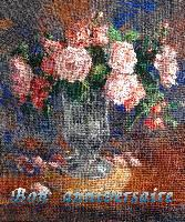 carte MEZ - Bon anniv. roses