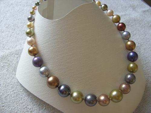 BIJOUX BIO N° 12   Collier Perles de culture   Zoom : 1 Clic sur le Bijou