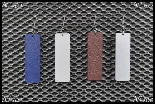 Bijoux aluminium N°102 Plusieurs couleurs disponibles