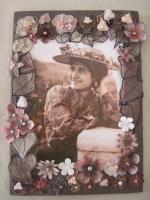 Exposition Autour de Gabrielle, belles d'une époque (Le Coeur des Roses) , Anita CONSTANT Le Coeur des Roses