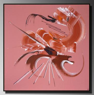 CAVALCADE  Taille : 50X50 Peinture abstraite   Acrylique au couteau/pinceau Toile sur ch�ssis bois Cotation Drouot Site officiel : http://www.mapeinturesurtoile.com Prix : me contacter