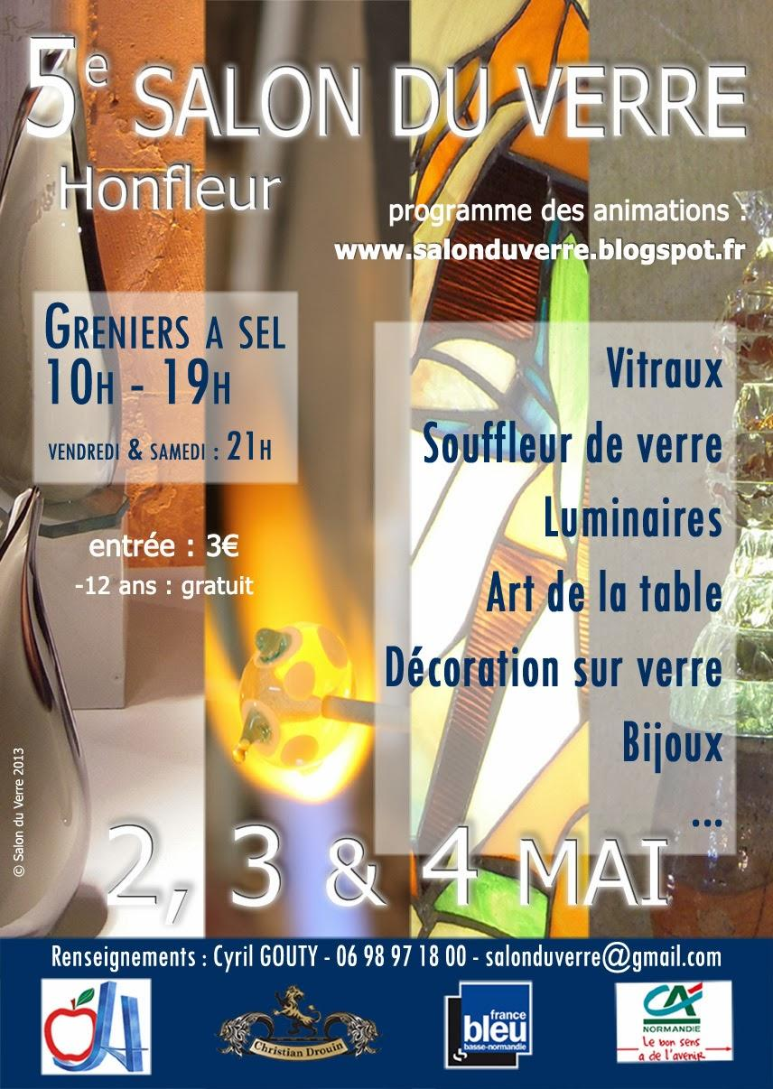 Actualité de Elisabeth JAN Le Salon du Verre à Honfleur