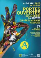 Portes Ouvertes de l'atelier 6-8 mai 2017 , LOUIS Pascale