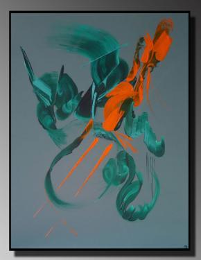 DESIR Taille : 50X61 Peinture abstraite   Acrylique au couteau/pinceau Toile sur châssis bois Cotation Drouot Site officiel : http://www.mapeinturesurtoile.com Prix : me contacter
