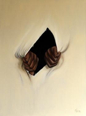 Huile sur toile 70x50 cm: Résistance.