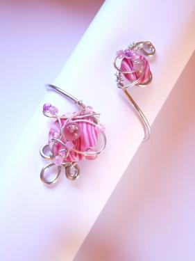 Bracelet Zarzuela Duo Rose