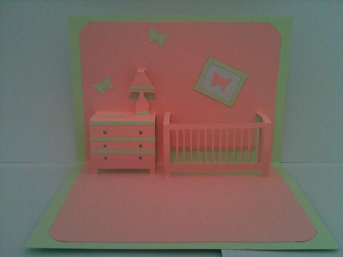 Chambre enfant Kirigami. Les couleurs peuvent changer ou vous pouvez les choisir. Pour une grosse quantit� le prix est d�gressif. Me contacter.
