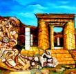 Archéologies.huile (mixte) /toile