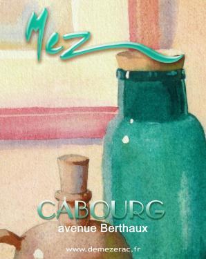 affiche - olives détail MEZ Cabourg