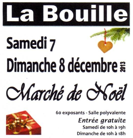 Actualité de Anita CONSTANT Le Coeur des Roses Marché de Noël de La Bouille (76)