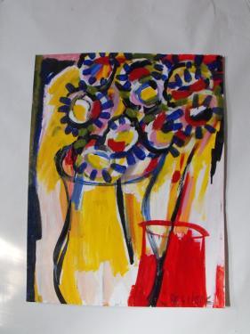 bouquet expressioniste
