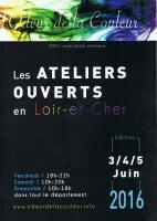 ATELIERS D'ARTISTES DU LOIR ET CHER OUVERTS , NICOLE BOURGAIT THIERRY LE SET DES FLEURS