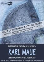 KARL MAUE, peinture , Aznar Sílvia Association Culturelle POPULART