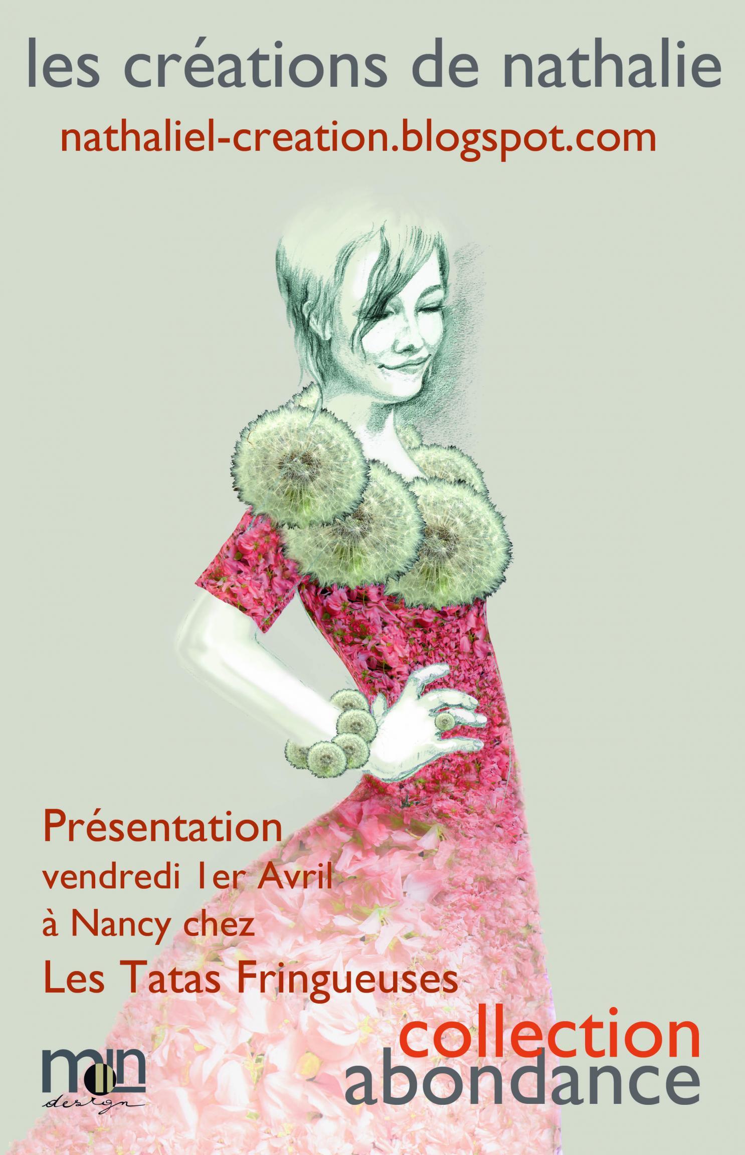 Actualité de Nathalie Lahaye- Mangold Nathalie Lahaye Création Défilé Nancy chez les Tatas Fringeuses