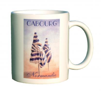 mug MEZ - parasols Cabourg