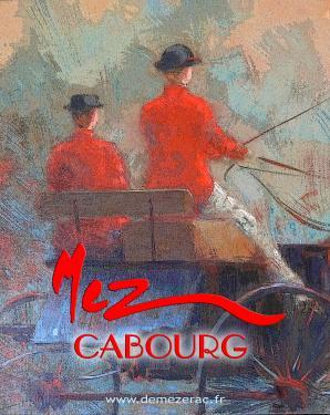 affiche - attelage détail MEZ Cabourg