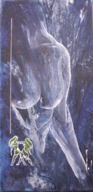 Collection Astro Séduction Elle & Lui Huiles sur Toile 20x40 personnalisées