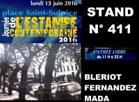 JOURNEE DE L'ESTAMPE CONTEMPORAINE 2016 , Abderrahmane MADA GRAVEUR EN TAILLE-DOUCE