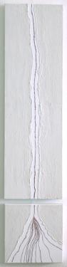 una grieta en el hogar (130x30cm)