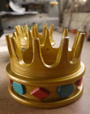 couronne en h�tre
