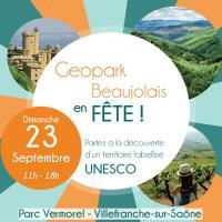 Actualité de pascal bidot graphiste décorateur plasticien Géopark beaujolais en fête