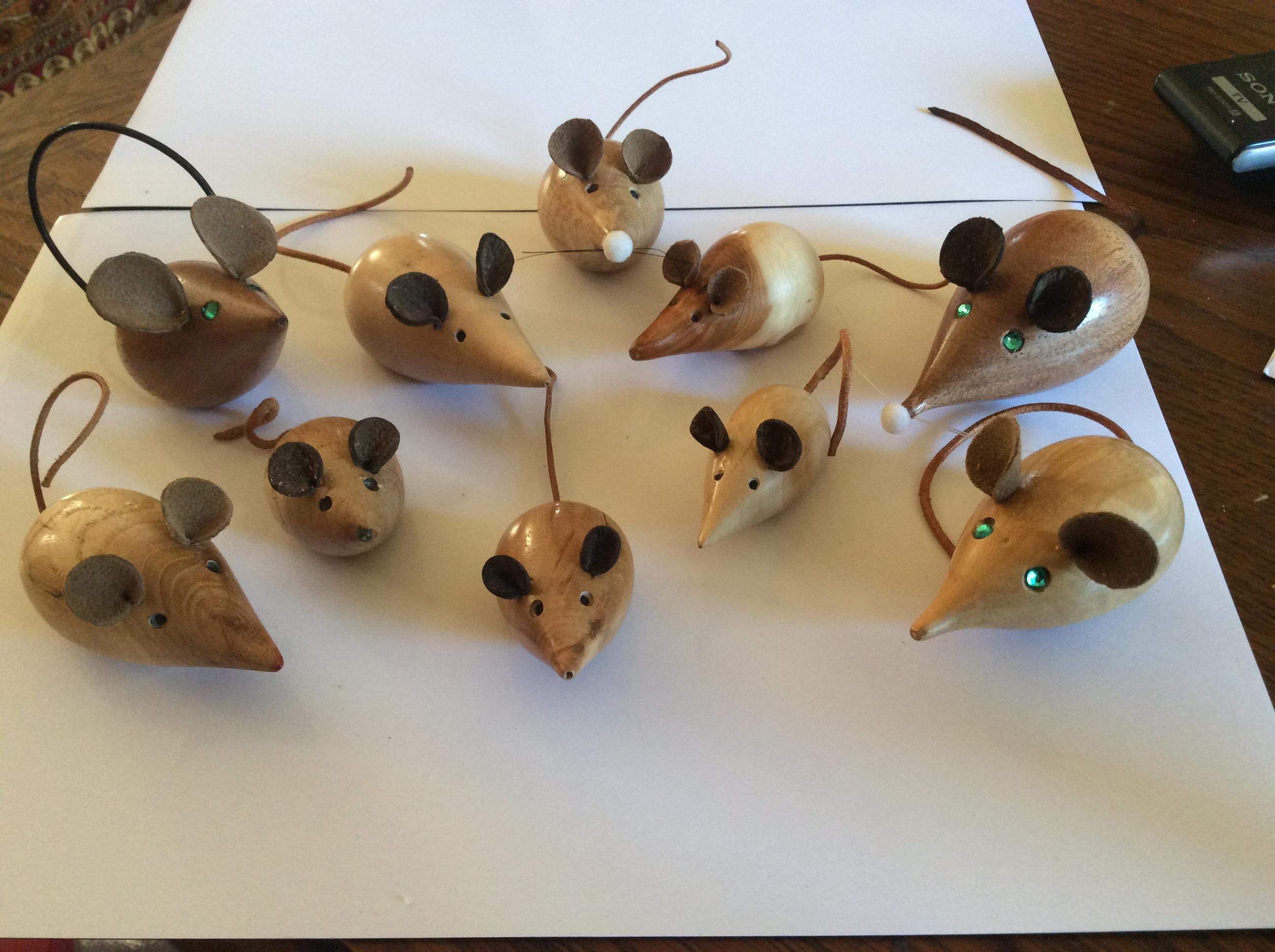 Actualité de Les Lampes d'Annick Les souris
