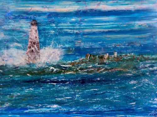 le phare (70x50 cm)