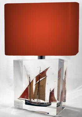 description Sardinier Grande Lampe ? 23 x 23 x 13 cm