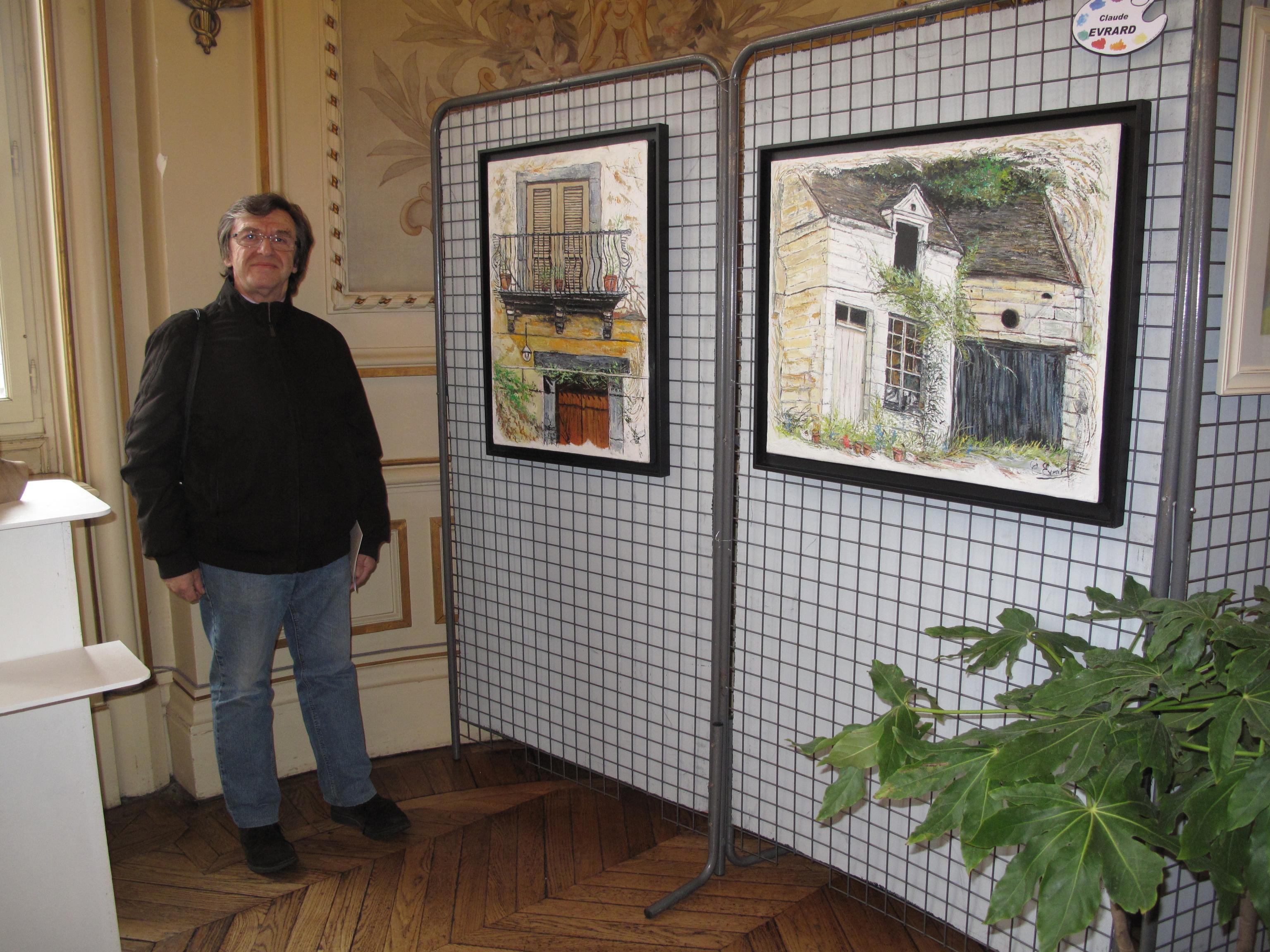 Actualité de EVRARD CLAUDE Salon des artistes indépendants à SENS 2014
