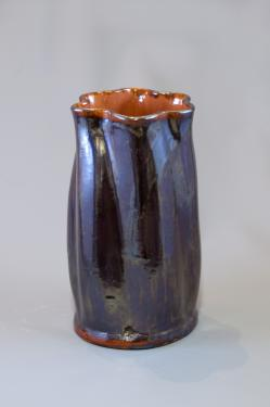 Vase torsade