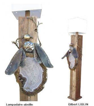 Lampe-abeille