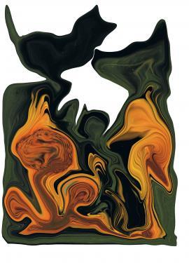 LES CHAMPIGNONS- Transfiguration de mon tableau